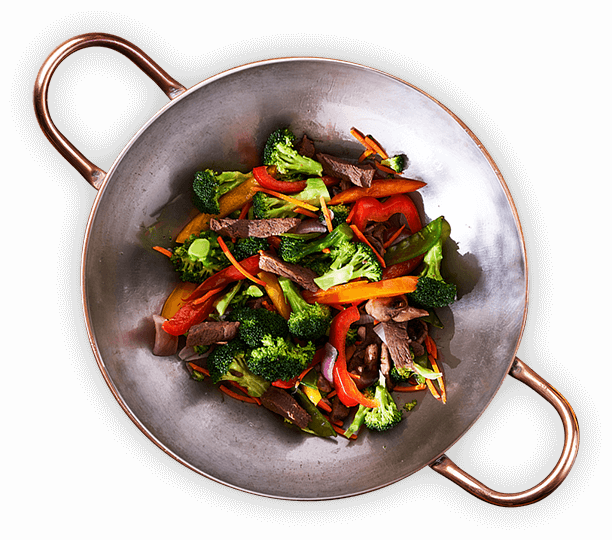 image: Wok with vegetables